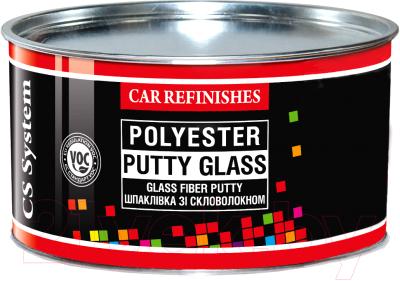 Шпатлевка автомобильная CS System Glass / 85041