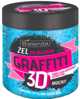 Гель для укладки волос Bielenda Graffiti 3D Strong синий (250мл) -