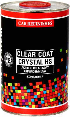Лак автомобильный CS System Clear Coat Crystal HS / 85100