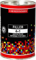 Грунтовка автомобильная CS System Filler 4+1 / 85014 (800мл, серый) -