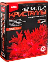 Набор для выращивания кристаллов Lori Лучистые кристаллы / Лк-001 (красный) -