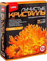Набор для выращивания кристаллов Lori Лучистые кристаллы / Лк-005 (оранжевый) -