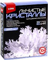 Набор для выращивания кристаллов Lori Лучистые кристаллы / Лк-006 (белый) -