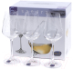 Набор бокалов Bohemia Crystal Sandra 40728/C5987/250 (6шт) -
