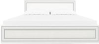 Двуспальная кровать Anrex Tiffany 160 с ПМ (вудлайн кремовый) -
