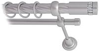 Карниз для штор Lm Decor Имидж 116 2р витой 25/16мм (сатин, 2.8м) -