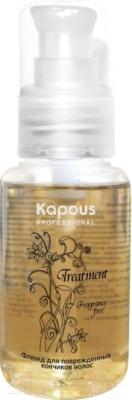 Флюид для волос Kapous Для поврежденных кончиков волос (60мл)