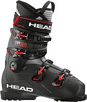 Горнолыжные ботинки Head Edge Lyt 100 285 / 609235 (black/red) -