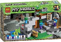 Конструктор Bela Minecraft My World Пещера Зомби / 10810 (250эл) -