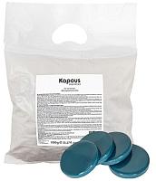 Воск для депиляции Kapous Синий с азуленом (1кг) -