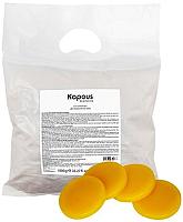 Воск для депиляции Kapous Эластичный желтый натуральный в дисках / 528 (1кг) -