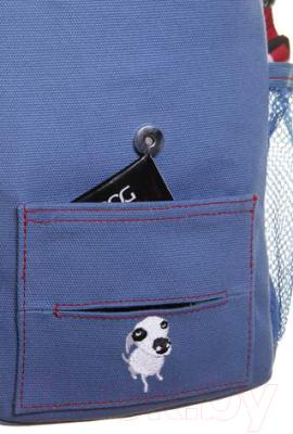 Сумка для дрессуры DOOG SB02 (голубой)