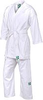Кимоно для карате Green Hill Club KSST-10354 (р.0/130, белый) -