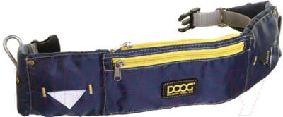 Сумка для дрессуры DOOG Maxi / WB01 (синий/желтый)
