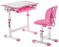 Парта+стул Растущая мебель Elfin B201S (розовый) -