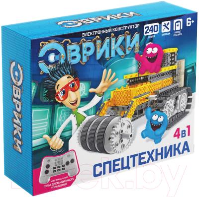 Конструктор управляемый Эврики Спецтехника / 3584364
