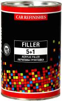 Грунтовка автомобильная CS System Filler 5+1 / 85020.1 (1л, черный) -
