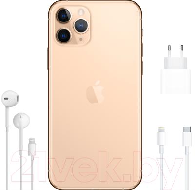 Смартфон Apple iPhone 11 Pro 256GB / MWC92 (золото)