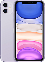 Смартфон Apple iPhone 11 64GB / MWLX2 (фиолетовый) -