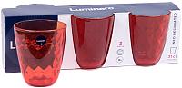 Набор стаканов Luminarc Neo diamond colorlicious red P7128 (3шт) -
