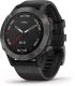 Умные часы Garmin Fenix 6 Sapphire / 010-02158-11 (темно-серый/черный) -