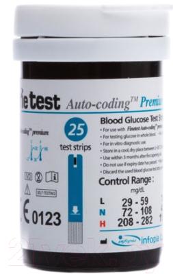 Тест-полоски Infopia Finetest Auto-Coding Premium (50шт)