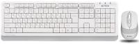 Клавиатура+мышь A4Tech Wireless Desktop Fstyler FG1010 (белый) -