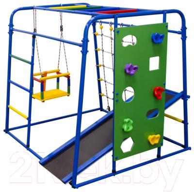Детский спортивный комплекс Формула здоровья Start Baby 2 Плюс (синий/радуга)