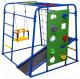 Детский спортивный комплекс Формула здоровья Start Baby 2 Плюс (синий/радуга) -