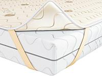 Наматрасник ортопедический Kondor Fiber 4 стеганый 160x200 (бамбук) -
