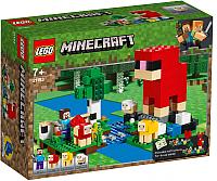 Конструктор Lego Minecraft Шерстяная ферма / 21153 -