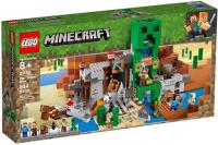 Конструктор Lego Minecraft Шахта крипера 21155 -