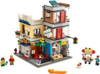 Конструктор Lego Creator Зоомагазин и кафе в центре города / 31097 -
