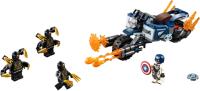 Конструктор Lego Super Heroes Капитан Америка: Атака Аутрайдеров / 76123 -