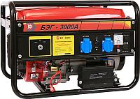 Бензиновый генератор Калибр БЭГ-3000А (59753) -
