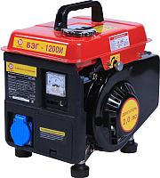 Бензиновый генератор Калибр БЭГ-1200И (48659) -