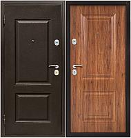 Входная дверь Магна Классика (96x205, античный орех левая) -