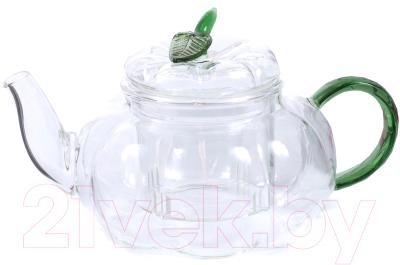 Заварочный чайник Белбогемия Грин 25622702 / 89148