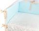 Комплект постельный в кроватку Martoo Comfy 3 (голубой/бежевый) -