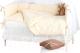 Комплект постельный в кроватку Martoo Comfy 6 (белый/бежевый) -