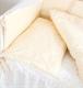 Комплект постельный в кроватку Martoo Comfy B (белый/бежевый) -