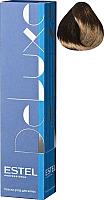 Крем-краска для волос Estel De Luxe 4/70 (шатен коричневый для седины) -