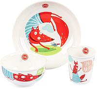 Набор столовой посуды Happy Baby Fox / 15055 -