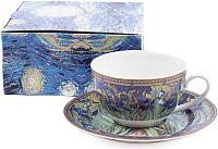 Чашка с блюдцем Белбогемия Ван Гог. Ирисы RN10004-VG / 86271 -
