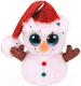 Мягкая игрушка TY Beanie Boo's Снеговик Flurry / 36682 -