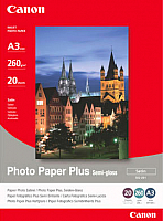 Фотобумага Canon Plus Semi-gloss SG-201 A3 / 1686B026 (20л) -