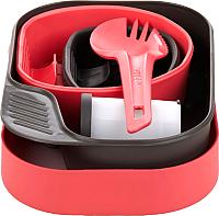 Набор пластиковой посуды Wildo Camp-A-Box Complete / W10269 (розовый) -