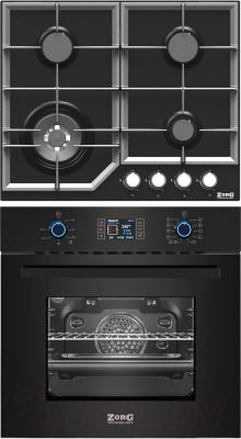 Комплект встраиваемой техники Zorg Technology BE10 LD BL + BP6 FDW BL