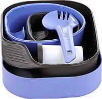 Набор пластиковой посуды Wildo Camp-A-Box Complete / W10263 (фиолетовый) -