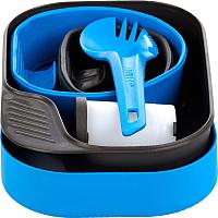 Набор пластиковой посуды Wildo Camp-A-Box Complete / W102633 (голубой) -
